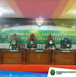Closing Meeting Asesmen Internal Pengadilan Negeri Lahat
